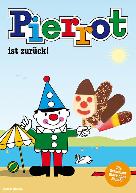 Pierrot Plakat Badi