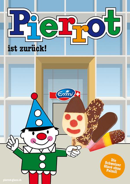 Pierrot Plakat Emmi