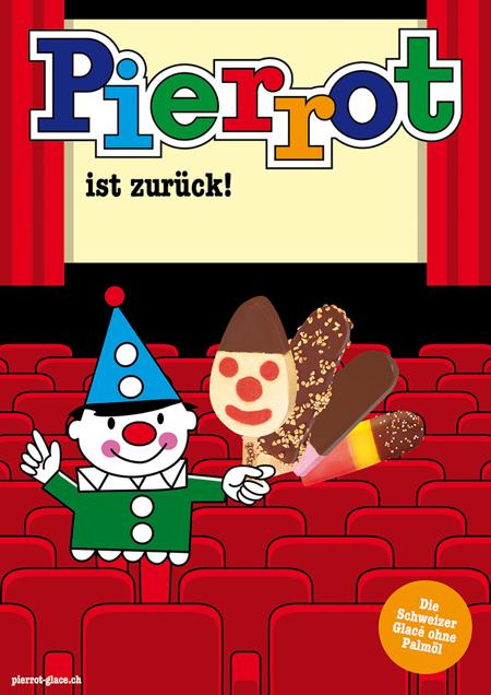 Pierrot Plakat Kino