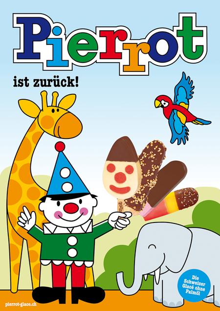 Pierrot Plakat Zoo